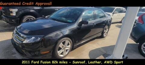 2011 Ford Fusion for sale at Fortnas Used Cars in Jonestown PA