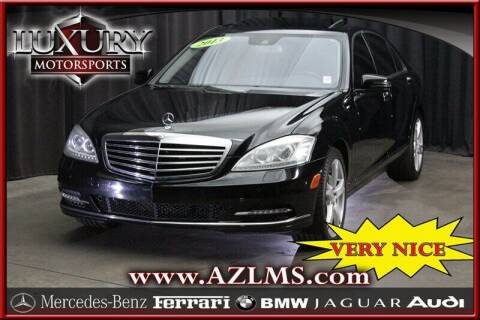2013 Mercedes-Benz S-Class for sale at Luxury Motorsports in Phoenix AZ