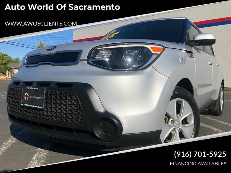 2016 Kia Soul for sale at Auto World of Sacramento Stockton Blvd in Sacramento CA
