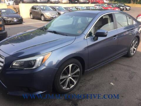 2015 Subaru Legacy for sale at J & M Automotive in Naugatuck CT