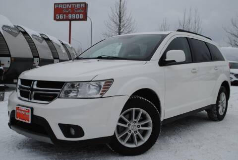 2016 Dodge Journey for sale at Frontier Auto & RV Sales in Anchorage AK