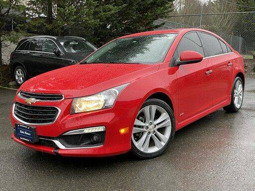 2015 Chevrolet Cruze for sale at Halo Motors in Bellevue WA