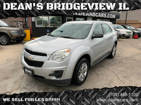 2011 Chevrolet Equinox for sale at DEANSCARS.COM in Bridgeview IL