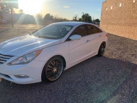 2012 Hyundai Sonata for sale at Dreamline Motors in Coolidge AZ
