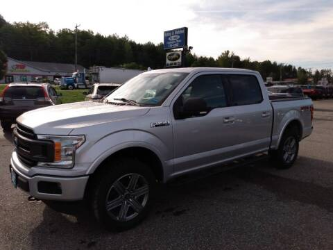 2018 Ford F-150 for sale at Ripley & Fletcher Pre-Owned Sales & Service in Farmington ME