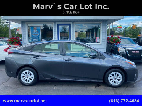 2017 Toyota Prius for sale at Marv`s Car Lot Inc. in Zeeland MI