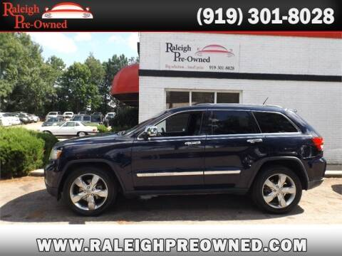2013 Jeep Grand Cherokee for sale at Raleigh Pre-Owned in Raleigh NC