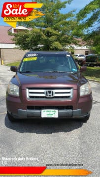 2008 Honda Pilot for sale at Shamrock Auto Brokers, LLC in Belmont NH