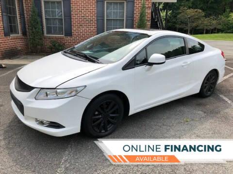 2012 Honda Civic for sale at White Top Auto in Warrenton VA