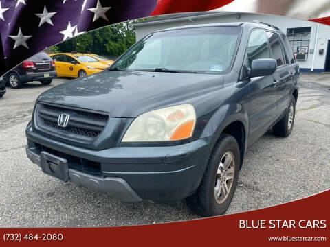 2005 Honda Pilot for sale at Blue Star Cars in Jamesburg NJ