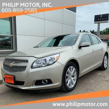 2013 Chevrolet Malibu for sale at Philip Motor Inc in Philip SD