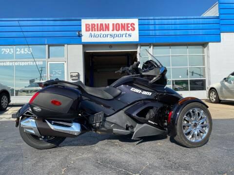 2013 Can Am Spyder ST LIMITED for sale at Brian Jones Motorsports Inc in Danville VA