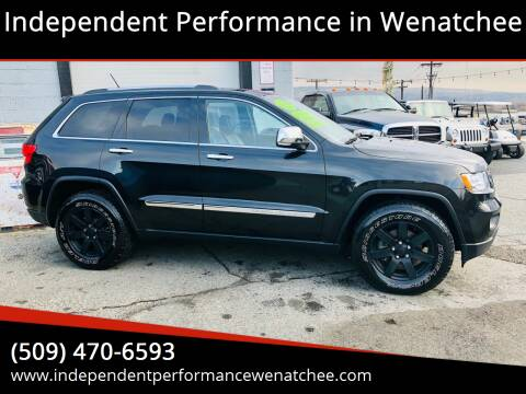 2013 Jeep Grand Cherokee for sale at Independent Performance Sales & Service in Wenatchee WA