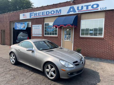 2005 Mercedes-Benz SLK for sale at FREEDOM AUTO LLC in Wilkesboro NC