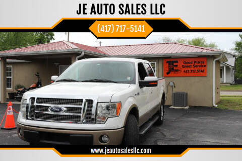 2012 Ford F-150 for sale at JE AUTO SALES LLC in Webb City MO