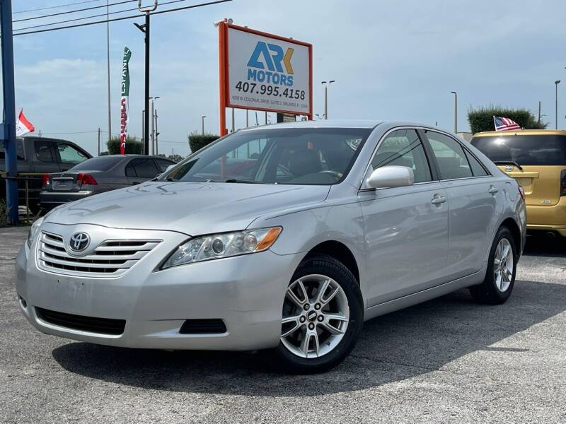 2007 Toyota Camry for sale at Ark Motors LLC in Orlando FL