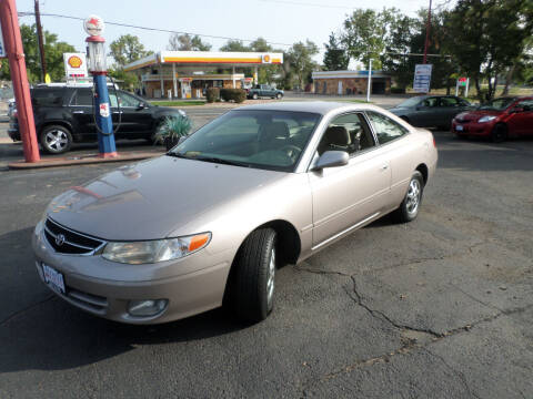 1999 Toyota Camry Solara for sale at Premier Auto in Wheat Ridge CO