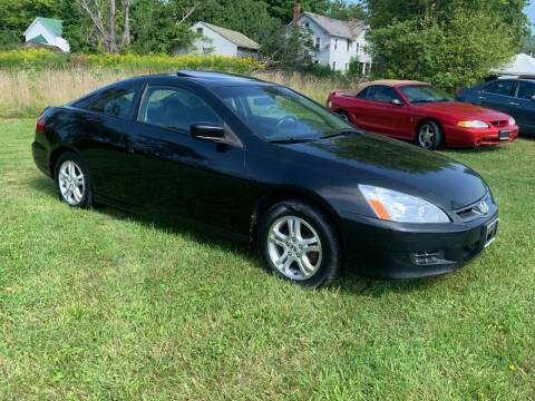 2006 Honda Accord for sale at Saratoga Motors in Gansevoort NY