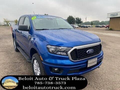2019 Ford Ranger for sale at BELOIT AUTO & TRUCK PLAZA INC in Beloit KS