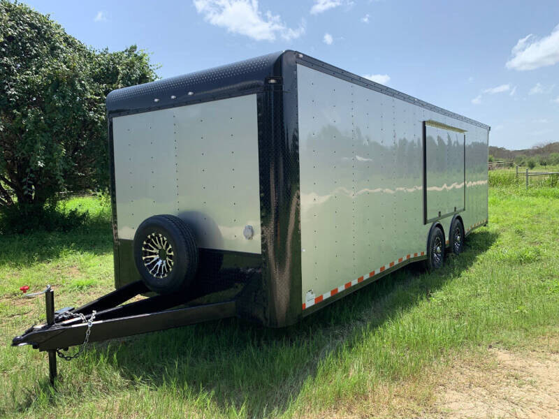 2021 CARGO CRAFT 8.5X28 AUTO CARRIER for sale at Trophy Trailers in New Braunfels TX