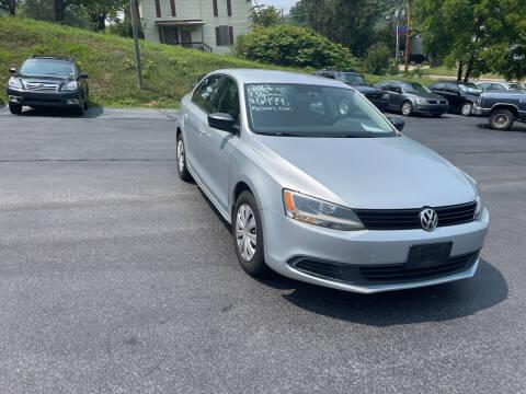 2012 Volkswagen Jetta for sale at KP'S Cars in Staunton VA