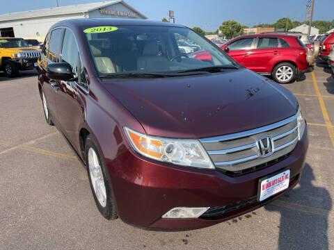 2013 Honda Odyssey for sale at De Anda Auto Sales in South Sioux City NE