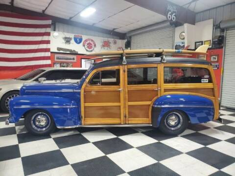 1948 Ford Super Deluxe for sale at Classic Car Deals in Cadillac MI