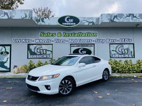 2013 Honda Accord for sale at Greenway Auto Sales in Jacksonville FL