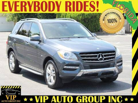 2012 Mercedes-Benz M-Class for sale at VIP Auto Group in Clearwater FL
