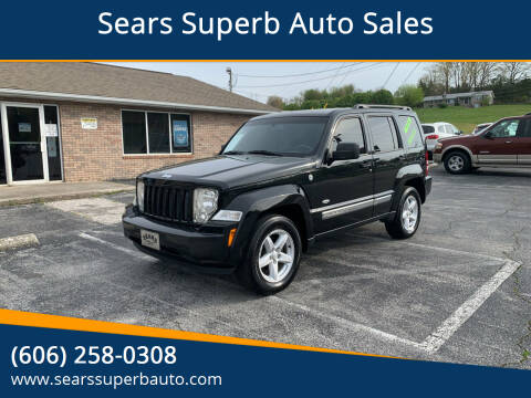 2012 Jeep Liberty for sale at Sears Superb Auto Sales in Corbin KY