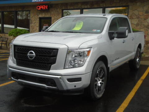 2020 Nissan Titan for sale at Rogos Auto Sales in Brockway PA