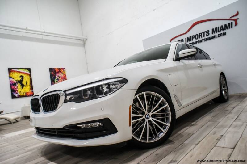 2018 BMW 5 Series for sale at AUTO IMPORTS MIAMI in Fort Lauderdale FL