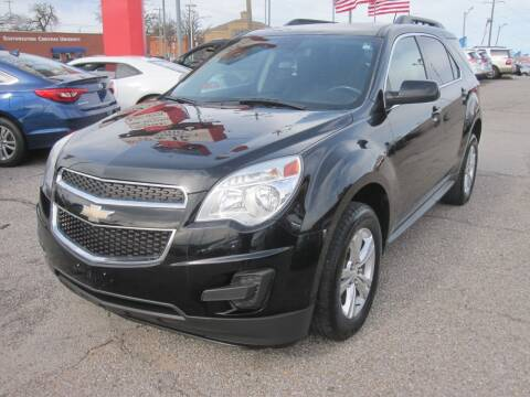 2015 Chevrolet Equinox for sale at T & D Motor Company in Bethany OK