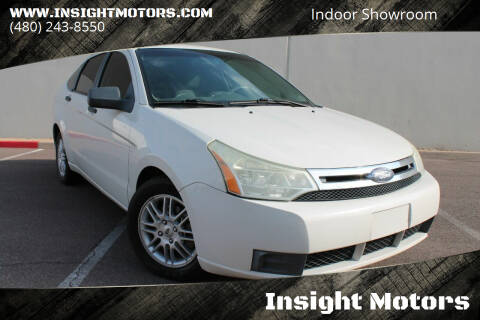 2009 Ford Focus for sale at Insight Motors in Tempe AZ