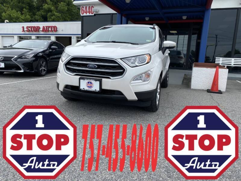2018 Ford EcoSport for sale at 1 Stop Auto in Norfolk VA
