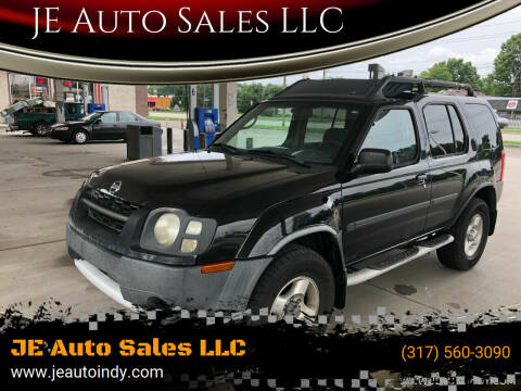 2003 Nissan Xterra for sale at JE Auto Sales LLC in Indianapolis IN