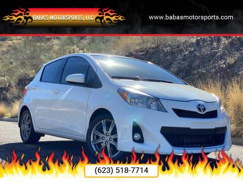 2014 Toyota Yaris for sale at Baba's Motorsports, LLC in Phoenix AZ