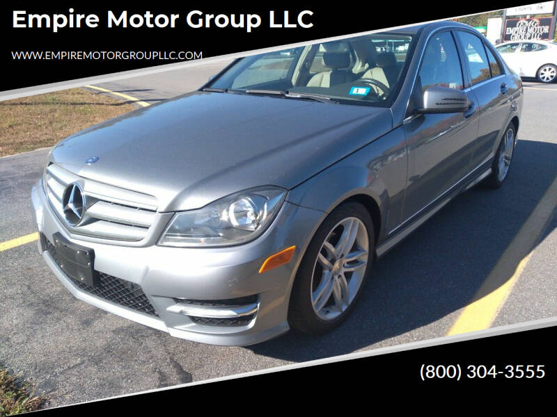 2012 Mercedes-Benz C-Class for sale at Empire Motor Group LLC in Plaistow NH