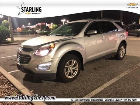 2017 Chevrolet Equinox for sale at Pedro @ Starling Chevrolet in Orlando FL