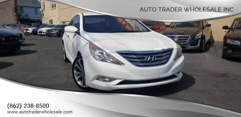 2013 Hyundai Sonata for sale at Auto Trader Wholesale Inc in Saddle Brook NJ