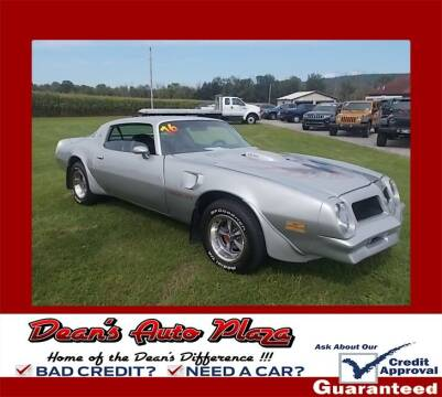 1976 Pontiac Trans Am for sale at Dean's Auto Plaza in Hanover PA