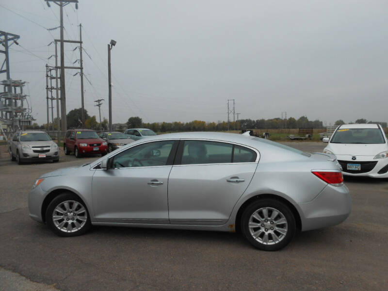 2012 Buick LaCrosse for sale at Salmon Automotive Inc. in Tracy MN