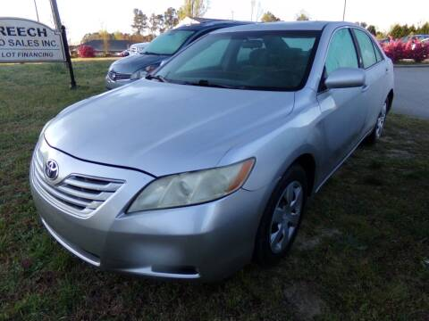2007 Toyota Camry for sale at Creech Auto Sales in Garner NC