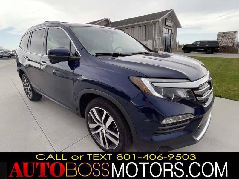 2018 Honda Pilot for sale at Auto Boss in Woods Cross UT