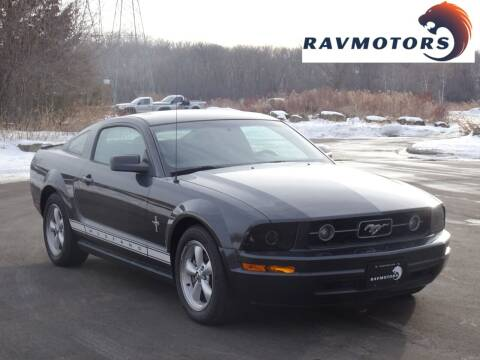 2007 Ford Mustang for sale at RAVMOTORS in Burnsville MN