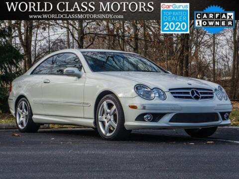 2009 Mercedes-Benz CLK for sale at World Class Motors LLC in Noblesville IN