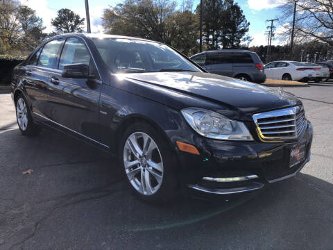 2012 Mercedes-Benz C-Class for sale at Mike's Auto Sales INC in Chesapeake VA