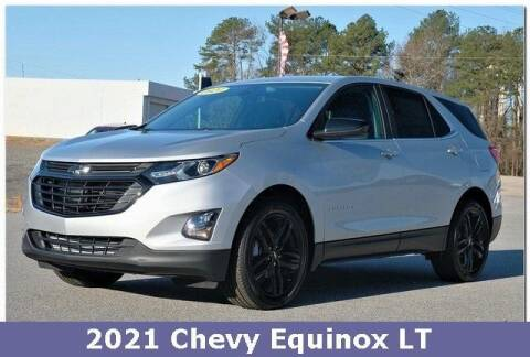 2021 Chevrolet Equinox for sale at WHITE MOTORS INC in Roanoke Rapids NC
