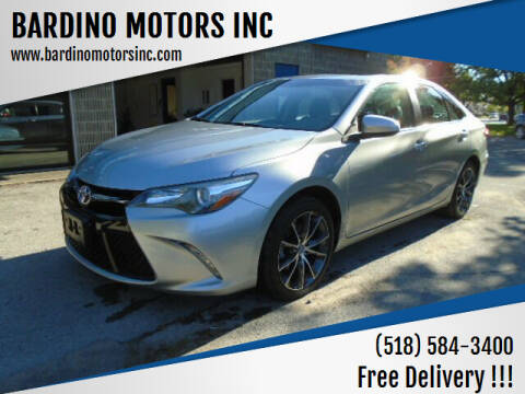 2017 Toyota Camry for sale at BARDINO MOTORS INC in Saratoga Springs NY