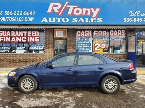 2006 Chrysler Sebring for sale at R Tony Auto Sales in Clinton Township MI
